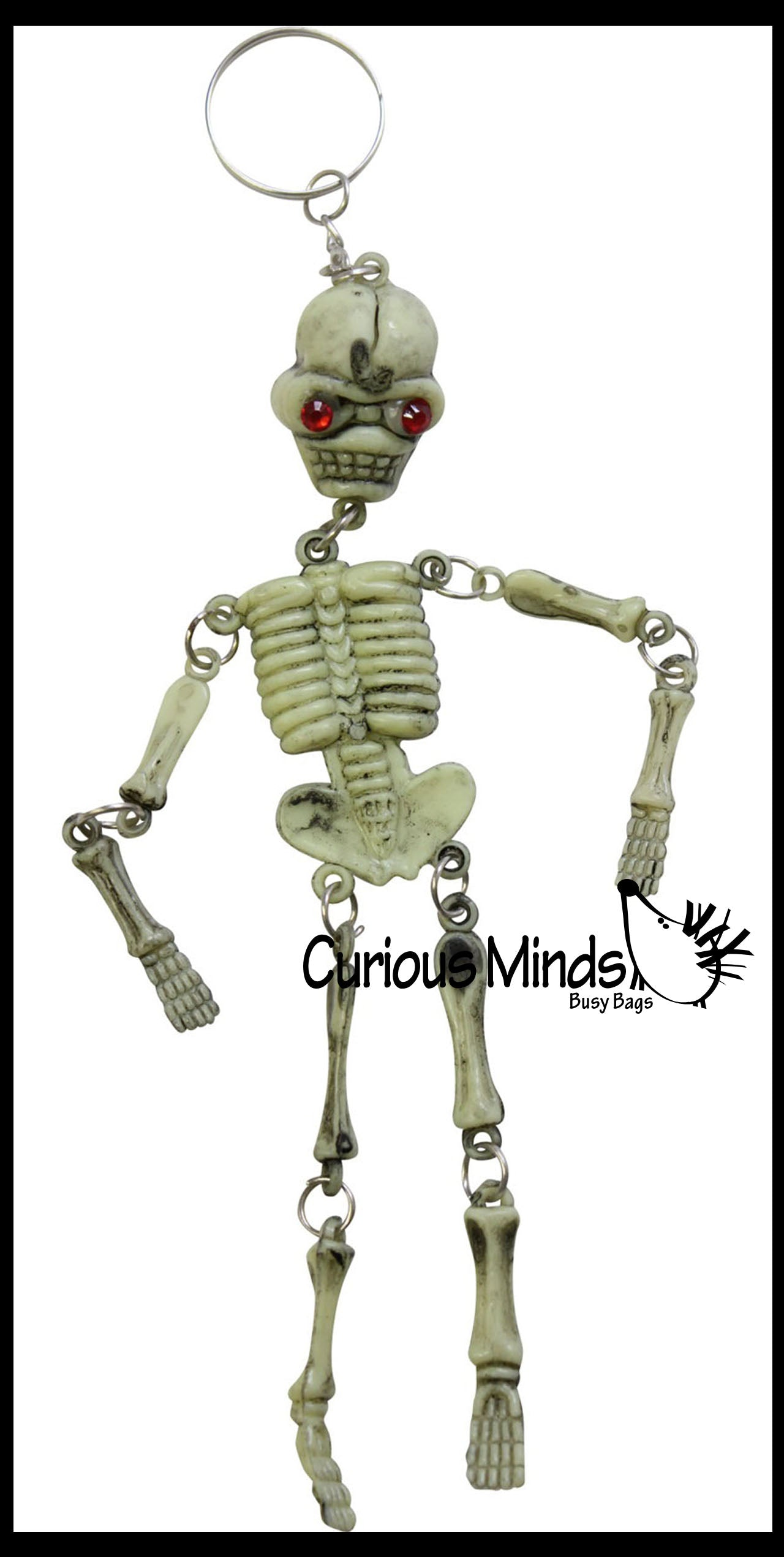 Moving Skeleton Keychains - Doctor - Anatomy - Halloween Spooky Favor