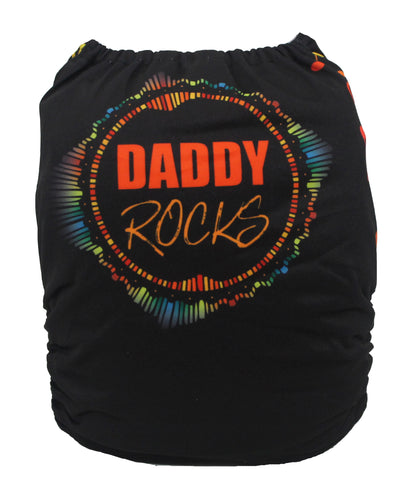 "Fluffy Penguin Pocket ""Daddy Rocks"""