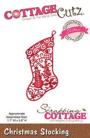 CCE-323 ~ Christmas Stocking