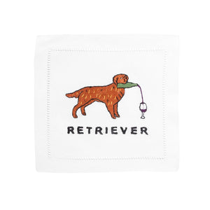 Golden Retriever Cocktail Napkins