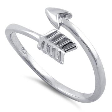 Ring| Arrow-Adjustable | Sterling Silver
