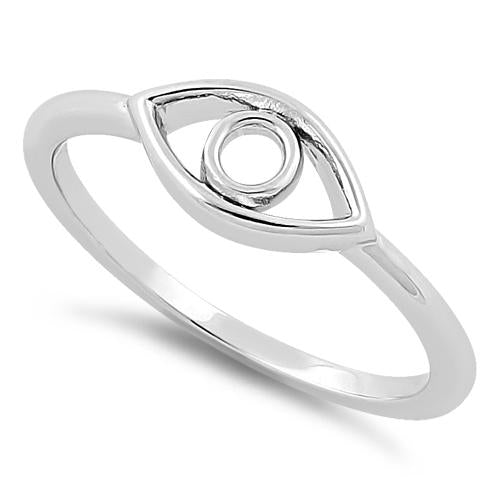Ring| Evil Eye |  Sterling Silver