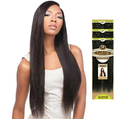 Bare & Natural Unprocessed Hair Bundle Clip-on Weaves