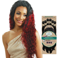 BobbiBoss BonEla Brazilian Natural Unprocessed Hair Weave - AUSSIE WAVE 7PCS