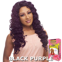 Janet Brazilian Scent Human Hair Blend Lace Front Wig - EMILY