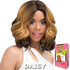 Janet Brazilian Scent Human Hair Blend Lace Front Wig - SKYLER