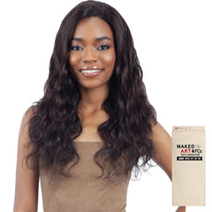 Naked Art Unprocessed Human Hair Weave - WAVE 4PCS
