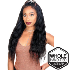 "Sis Unprocessed Brazilian Remy Hair Whole Lace Wig - LOOSE WAVE 26"" (Wet & Wavy)"