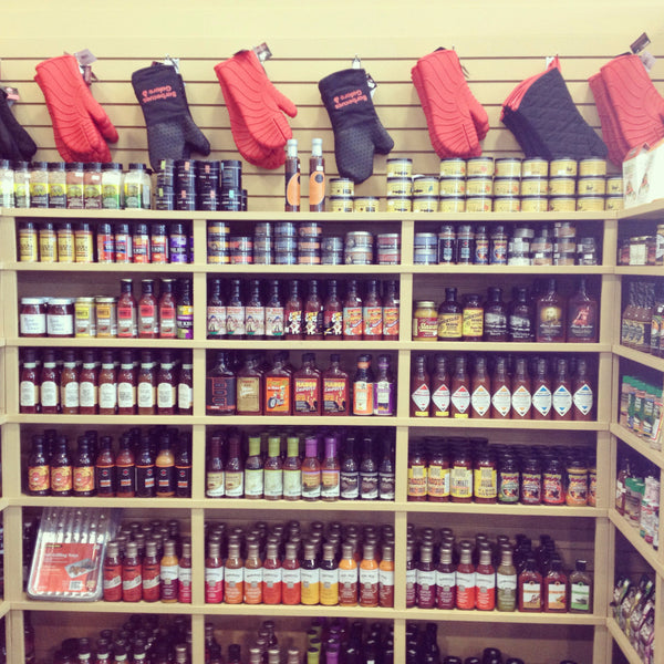 WIDE SELECTION OF SAUCES AND RUBS