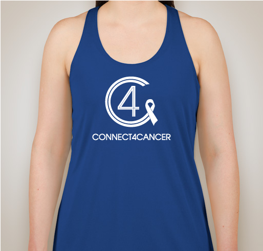 Connect4Cancer SuperGirl Tank tops royal blue tank top - SOLD OUT