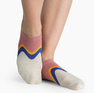 pointe studio Willow Grip Sock pink
