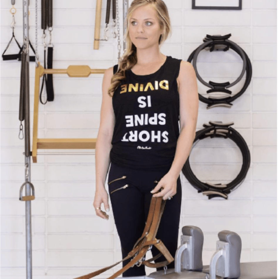 PILATES NERD - PILATES HAS YOUR BACK tank top