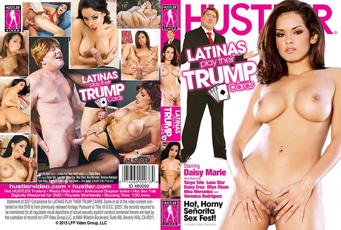 Latinas Play Their Trump Cards - Hustler Sealed DVD
