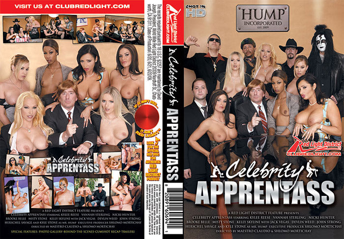 A Celebrity Apprentass - Red Light Sealed DVD
