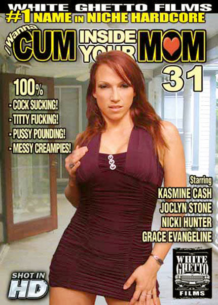 I Wanna Cum Inside Your Mom #31 - White Ghetto Cheap Adult DVD