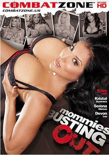 Mommies Busting Out - Combat Zone DVD in Sleeve