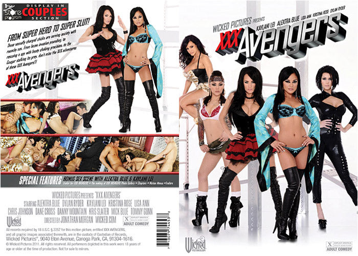 XXX Avengers - Wicked Sealed DVD