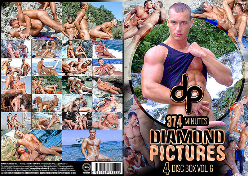Diamond Pictures #6 Gay Sealed 4 DVD Set