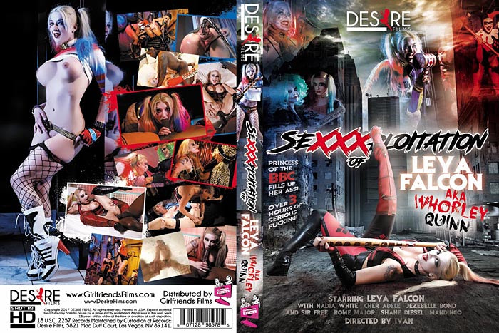 Sexxxploitation of Lev A Falcon Desire Films Sealed DVD