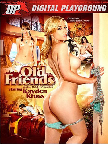 Kayden Kross: Old Friends (riley reid) Digital Playground - New DVD in Sleeve