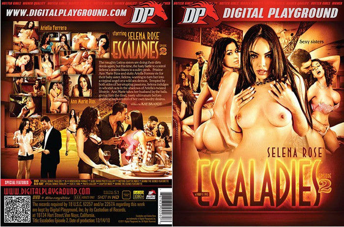 Escaladies #2 - Digital Playground New DVD in Sleeve