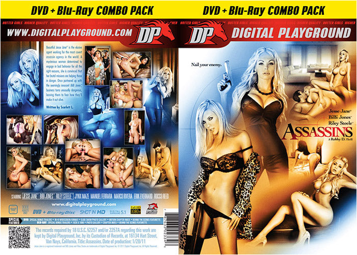 Assassins Digital Playground DVD in Sleeve