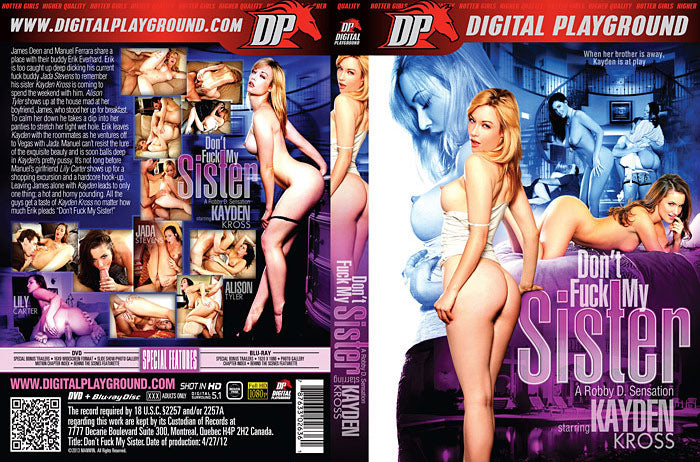 Kayden Kross: Dont Fuck My Sister - Digital Playground New DVD in Sleeve