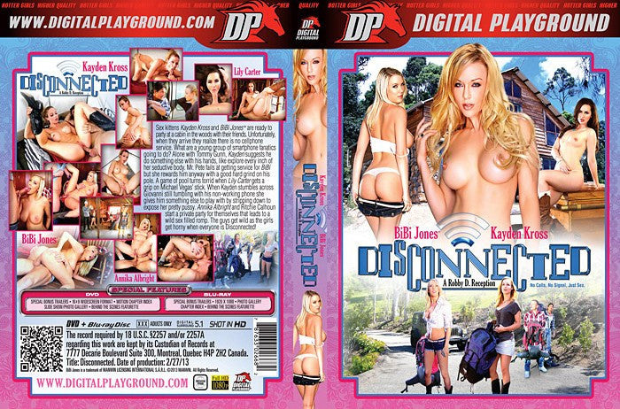 Disconnected - Digital Playground New DVD in Sleeve