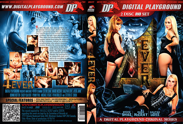 4 Ever - Digital Playground - Sealed 2 DVD Set