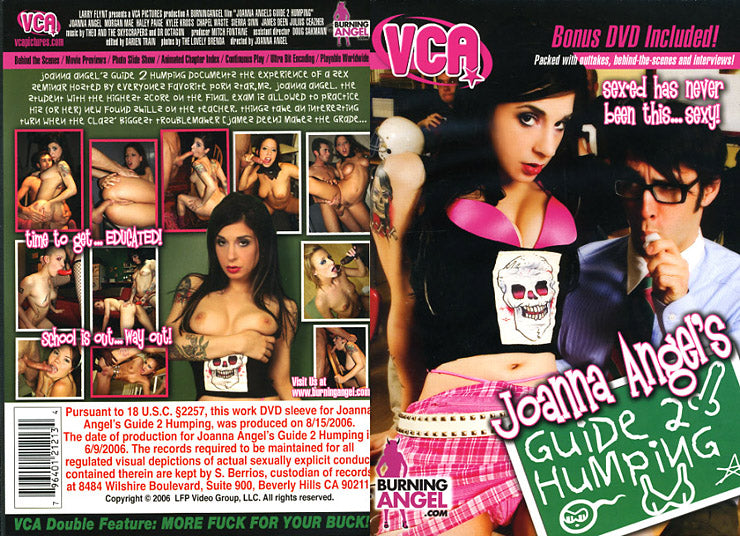 Joanna Angel Guide to Humping - VCA 2 DVD Set