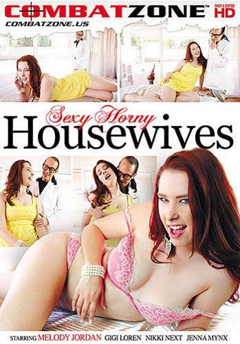 Sexy Horny Housewives - Combat Zone DVD in Sleeve