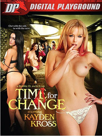 Kayden Kross: Time for Change Digital Playground - New DVD in Sleeve
