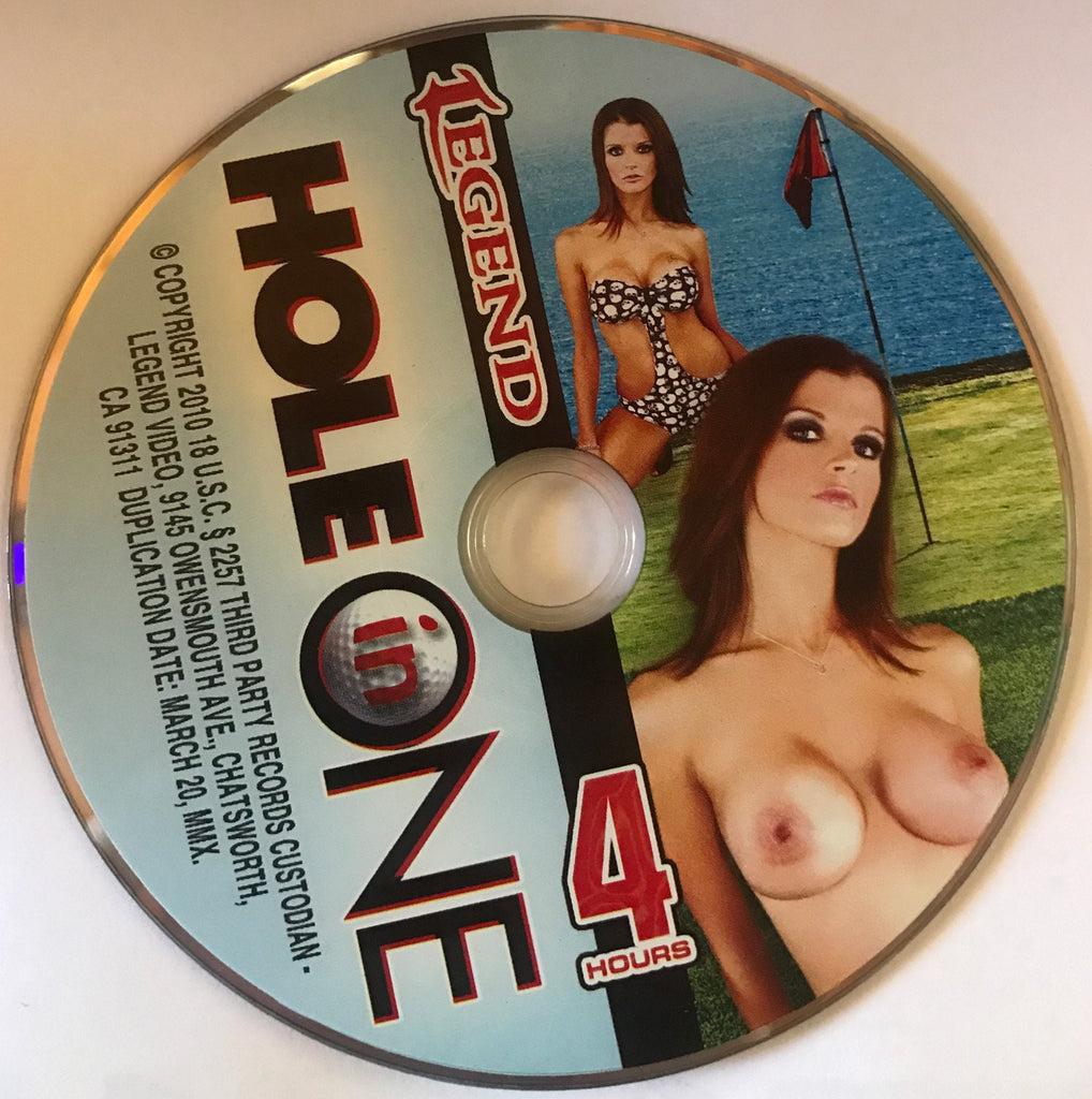 Hole in One (Jocylen James,Tiger's Former GF) - 4 Hour Legend DVD In Sleeve