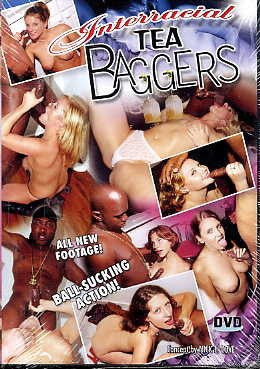 INTERRACIAL TEA BAGGERS DVD in White Sleeve