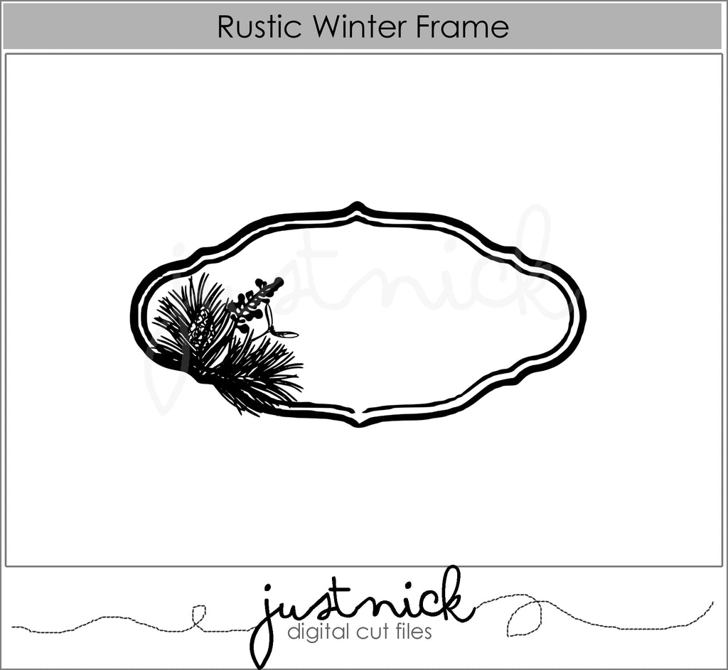 Rustic Winter Frame