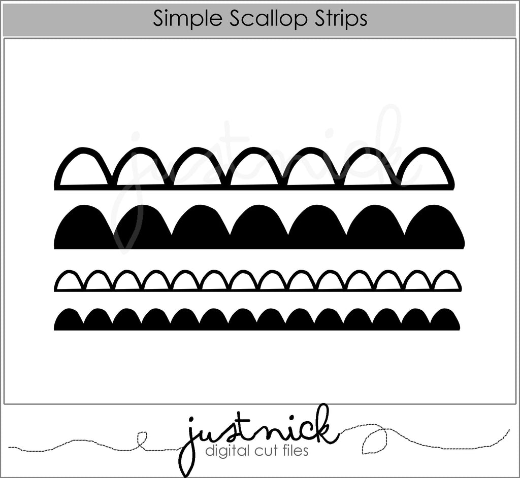 Simple Scallop Strips