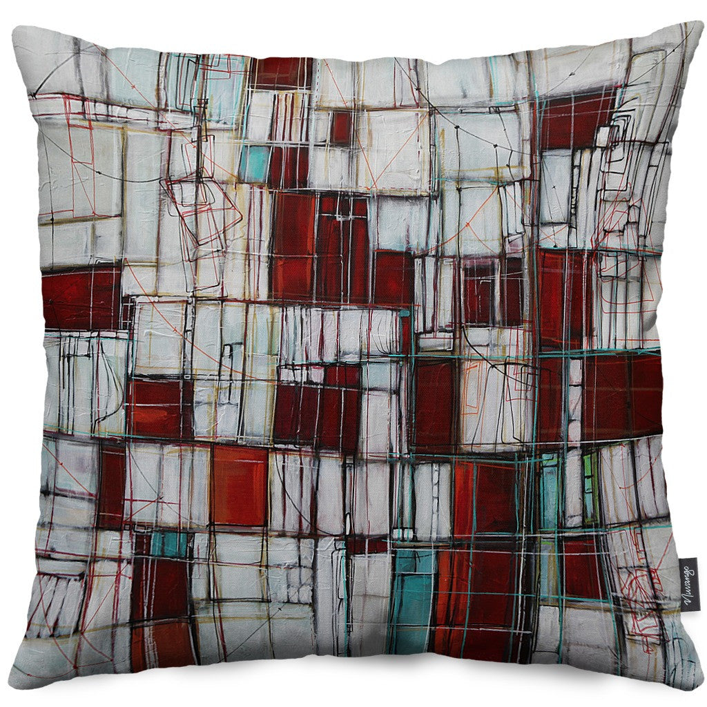 Midnight Waltz Throw Pillow