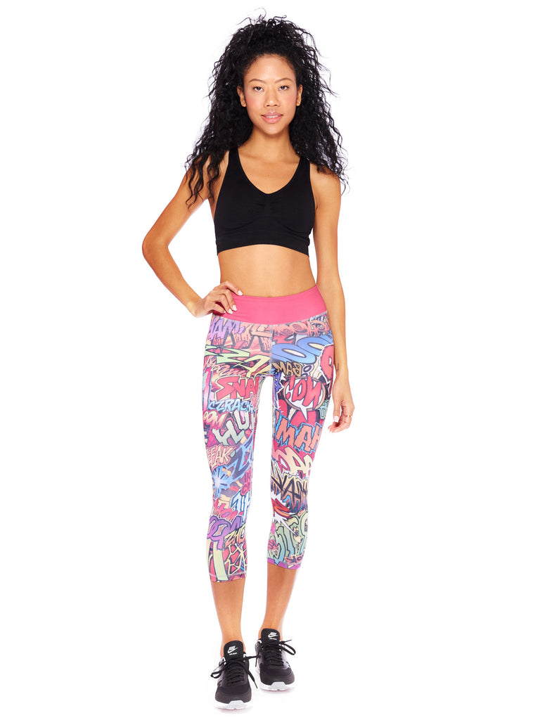 Action Packed Activewear Crop Leggings