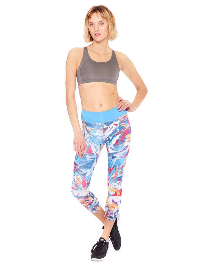 Excited Colours Activewear Crop Leggings