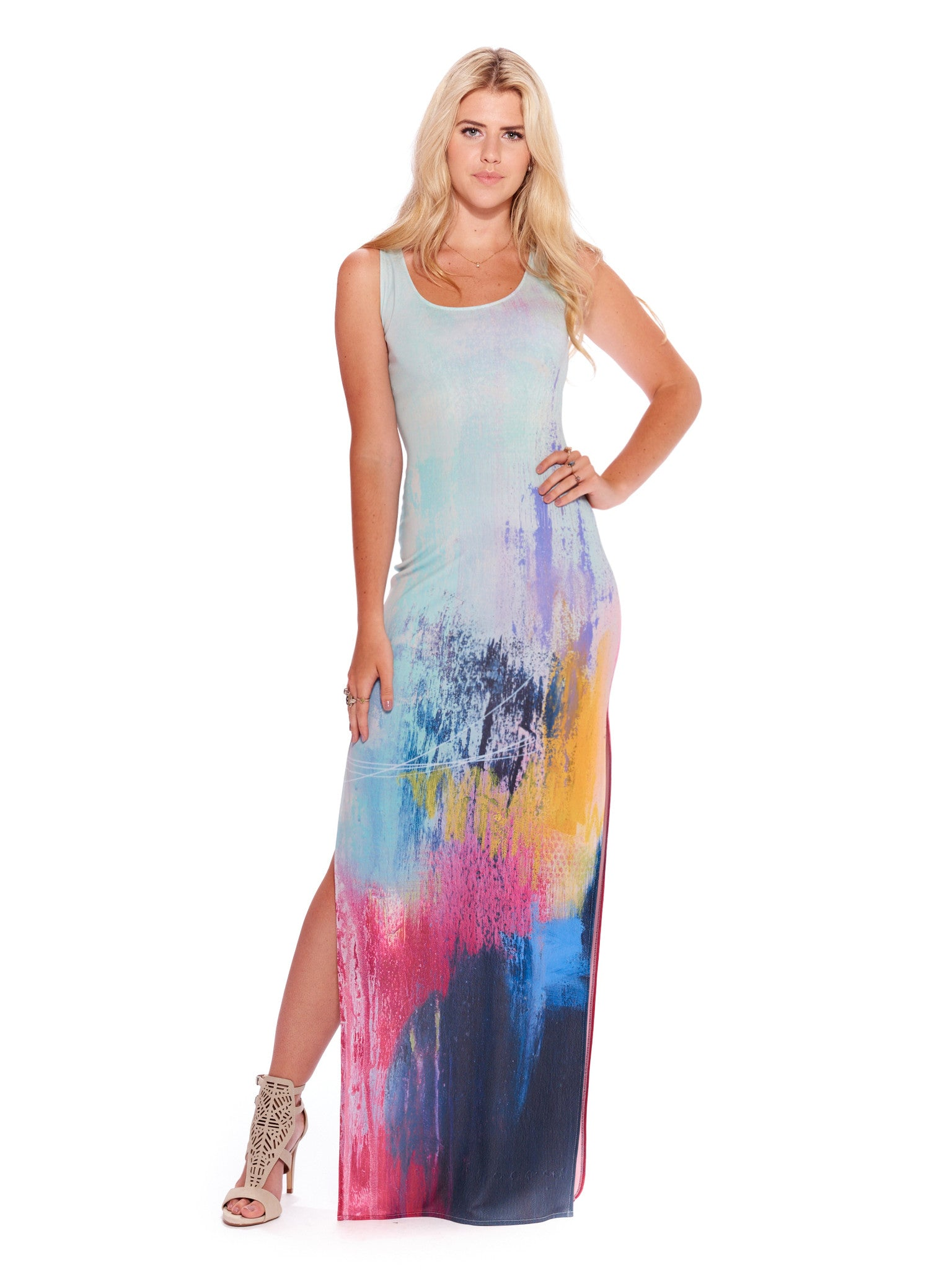 Tied Together With a Smile Maxi Dress
