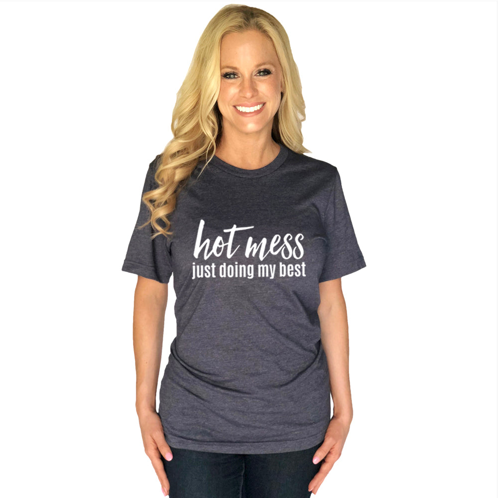Katydid Hot Mess Just Doing My Best Wholesale T-Shirts