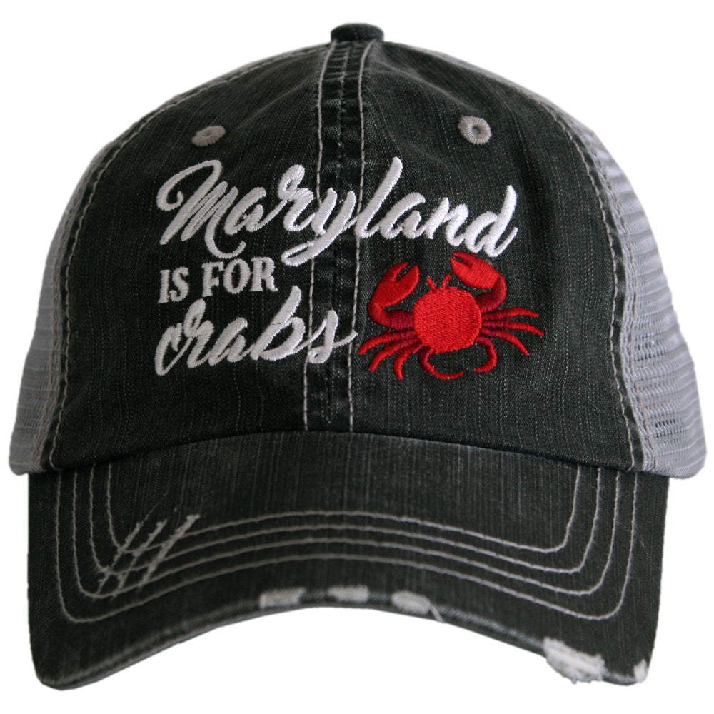 Katydid Maryland Is For Crabs Wholesale Trucker Hats