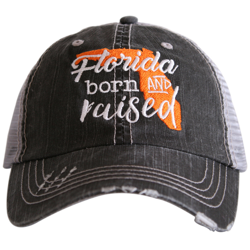 Katydid Florida Born and Raised Wholesale Trucker Hats