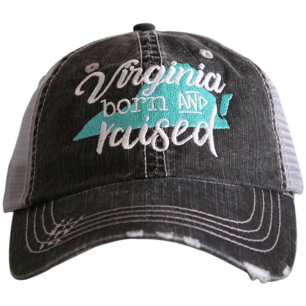 Katydid Virginia Born and Raised Wholesale Trucker Hats