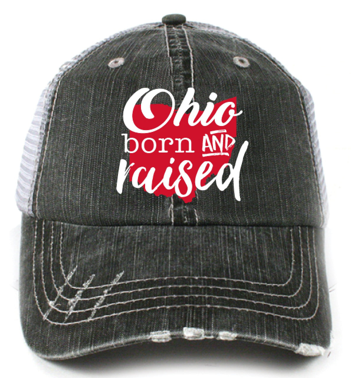 Katydid Ohio Born and Raised Wholesale Trucker Hats