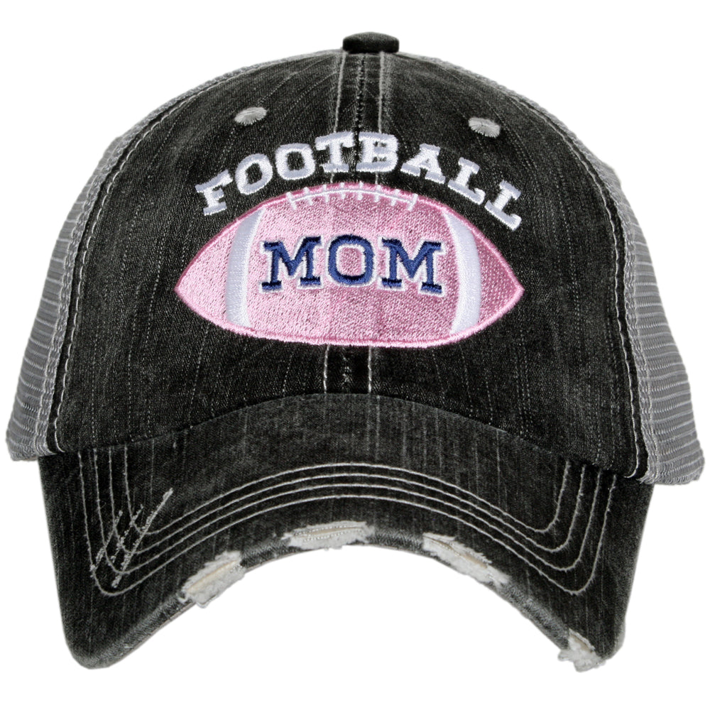 Katydid Pink Football Mom Wholesale Trucker Hats