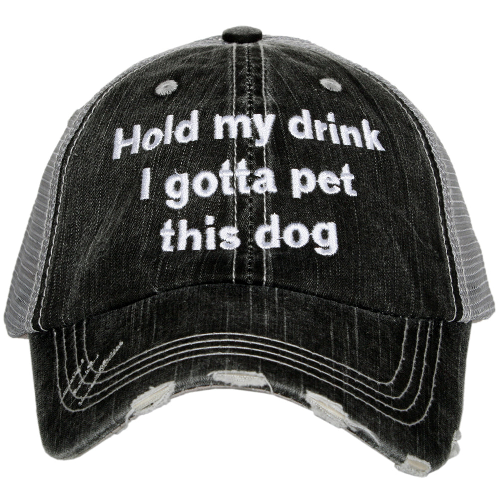 Katydid Gotta Pet This Dog Wholesale Trucker Hats