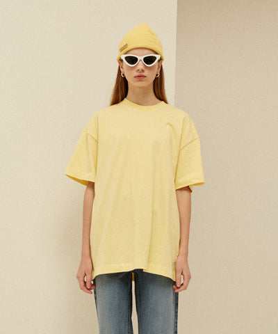 [13MONTH] TWO FACES T-SHIRT (YELLOW)