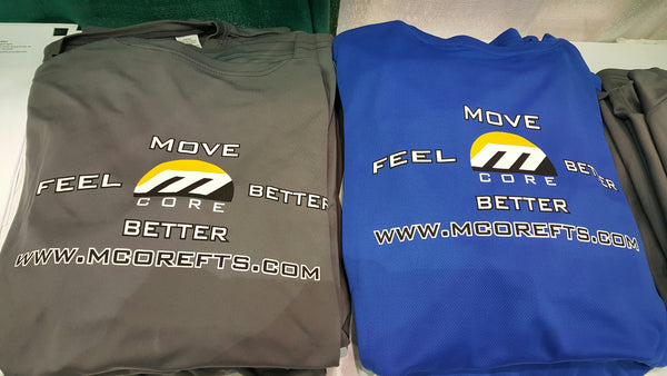 MCore Athletic T-Shirts