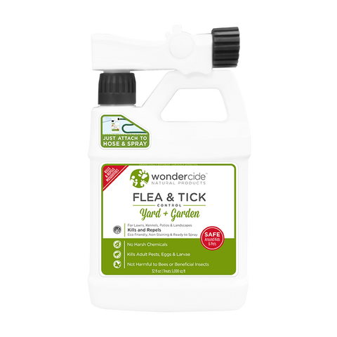 Wondercide - Natural Outdoor Yard + Garden Flea, Tick, & Mosquito Spray